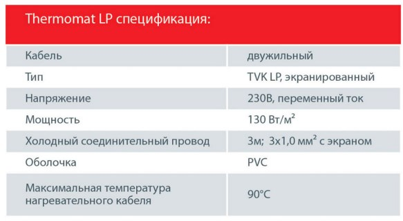 Thermomat TVK-LP